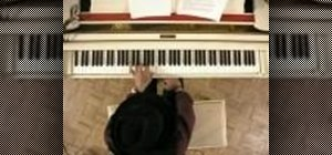 Practice chords on the piano