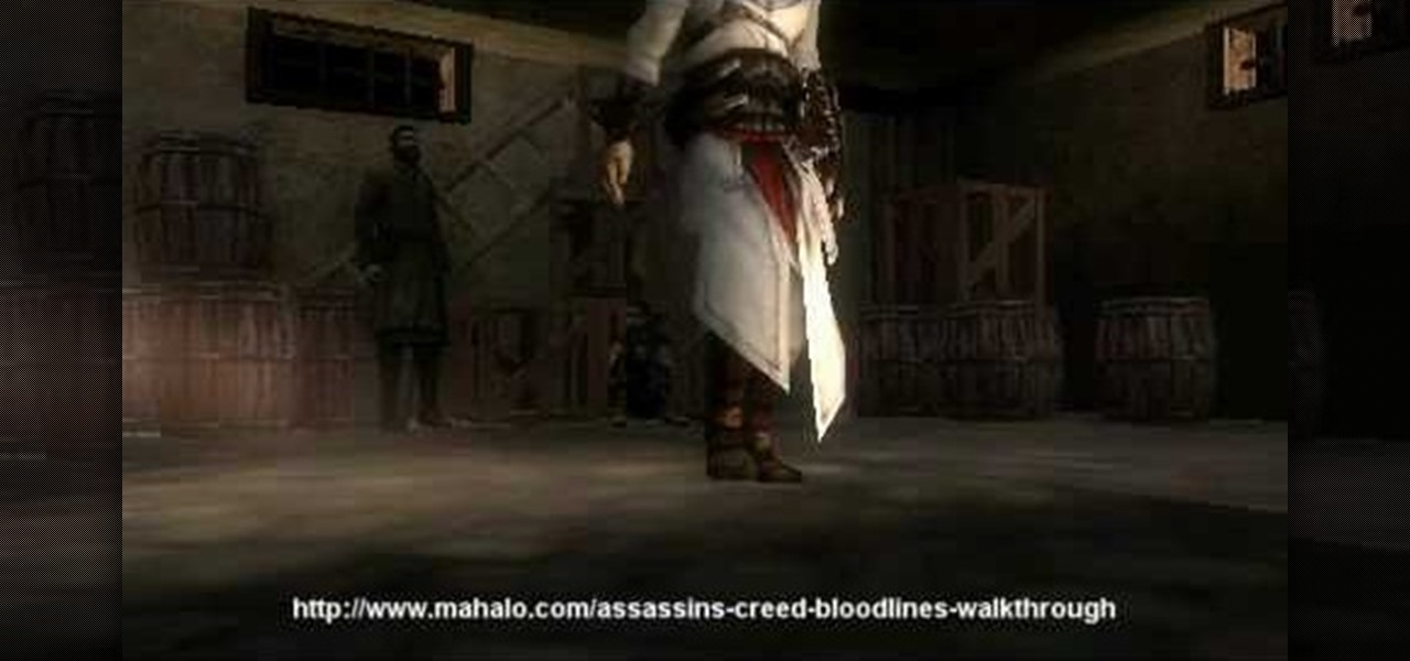 How To Walkthrough Assassin S Creed Bloodlines Mission 4 Psp