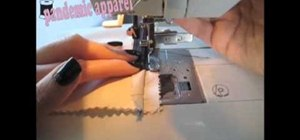 Sew three different zipper applications