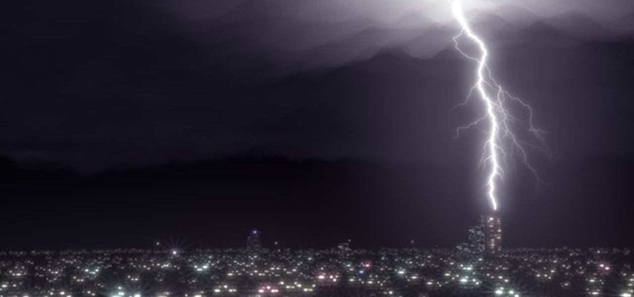 How To Create A Realistic Lightning Storm Effect In Blender Software Tips WonderHowTo