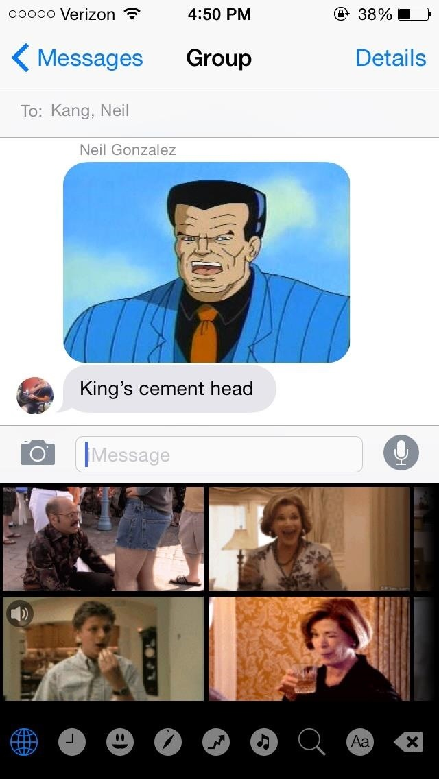 Messaging Just Got Way More Fun with GIF Keyboard for iOS 8