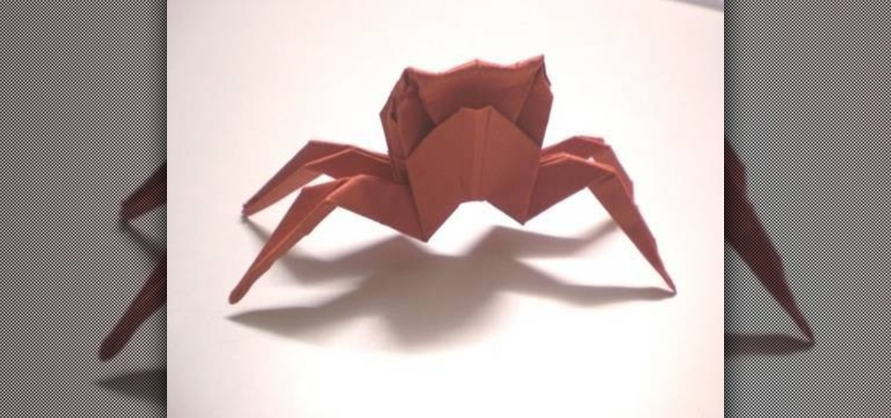 Origami Spider - YouTube | 600x1280