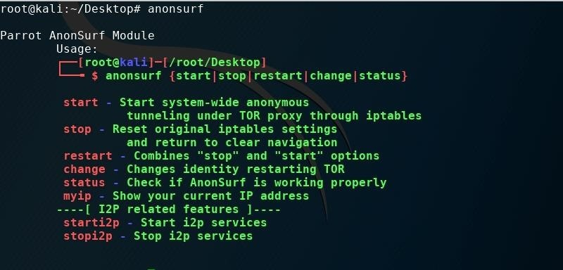 Use Anonsurf to Hack Anonymous