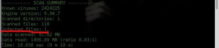 Anti-Virus in Kali Linux