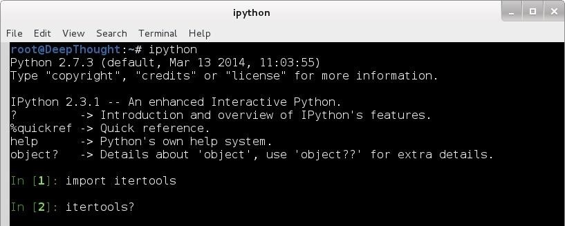An Introduction to IPython