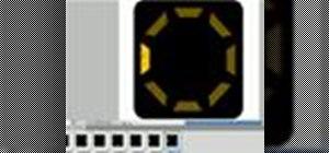 Create an animated loading screen style gif