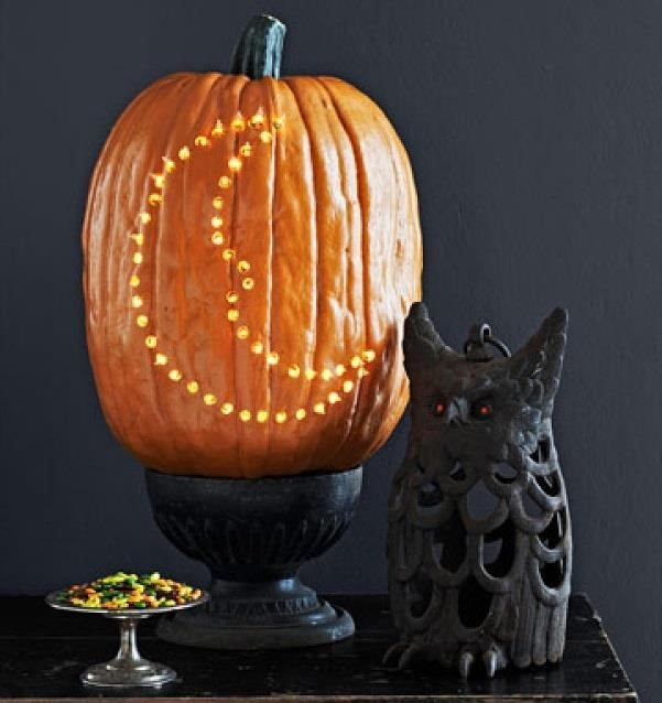 How to Make Your Jack-O'-Lantern Shine Lite-Brite Bright This Halloween