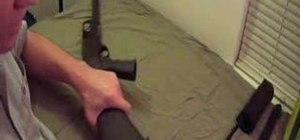 Disassemble and reassemble a Remington 870