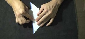 Fold a letter into a cute heart