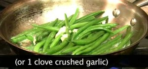 Make a great green bean side dish