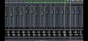 Mix with the SONAR 6 Console