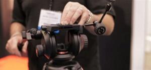 NAB 2010 - New Manfrotto 504HD tripod for DSLR