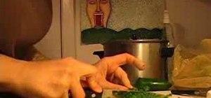Prepare raw hummus and guacamole