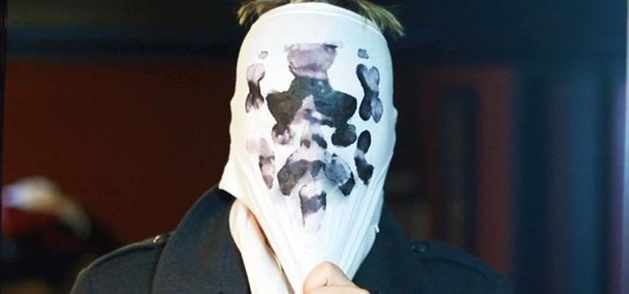 Make a Living Rorschach Mask with Morphing Inkblots