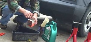 Perform an oil change on your car at home