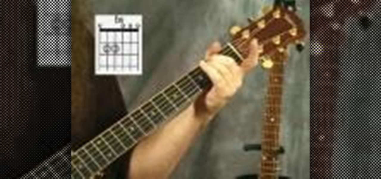 How to Play the minor chords on the acoustic guitar « Acoustic ...