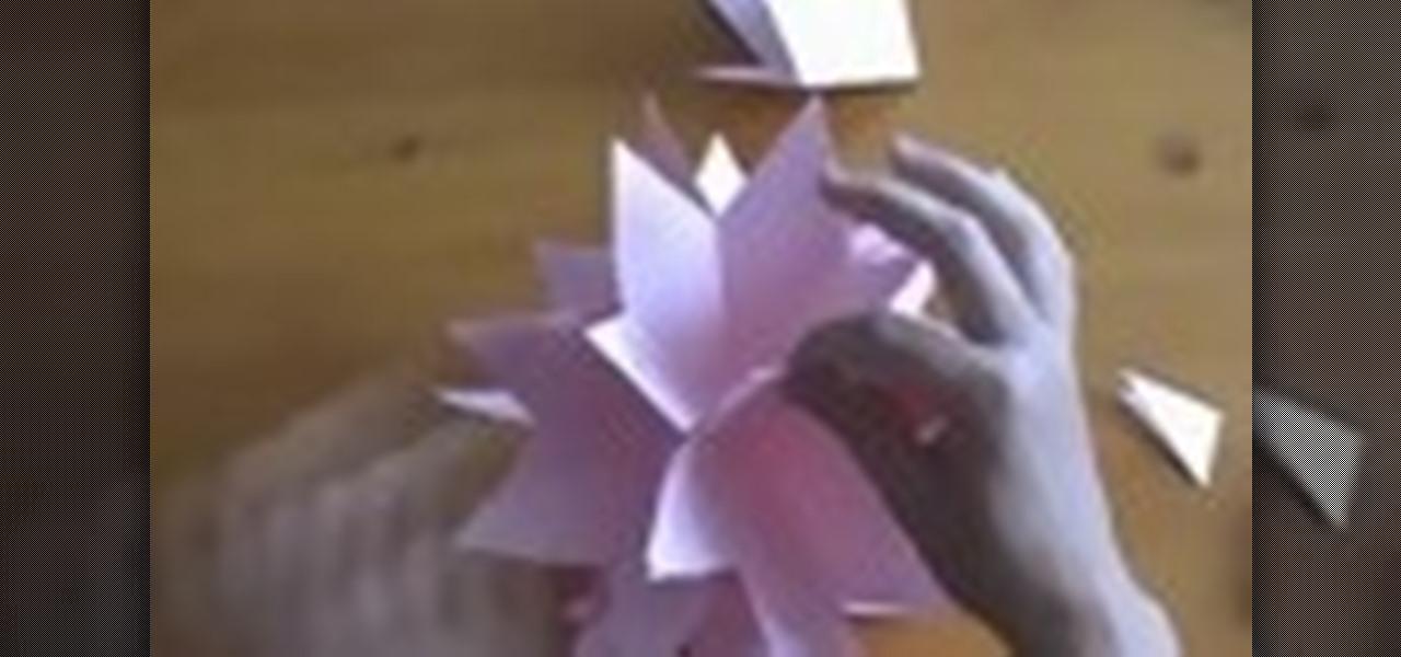 How to Make a 3D Japanese kusudama