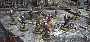 Build a Warhammer 40,000 army out of only Eldar Harlequins
