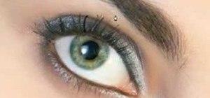 Create fake eyelashes in Photoshop