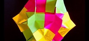 Fold an origami enigma box
