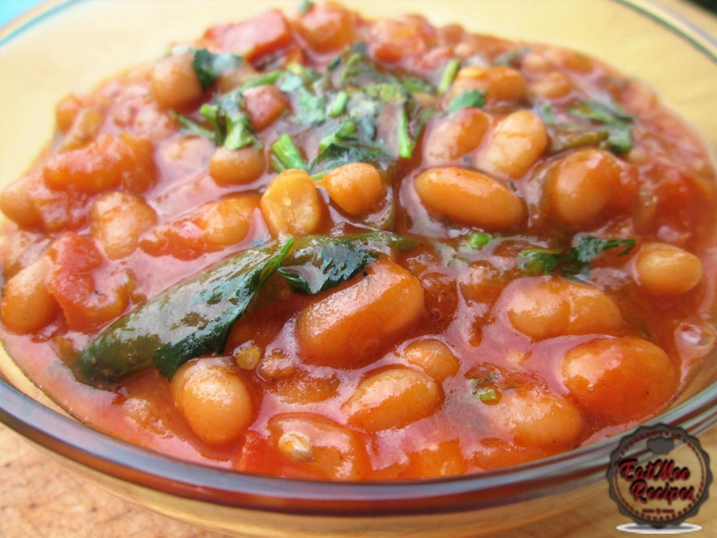 Baked Beans Curry Video Recipe - EatMee Recipes