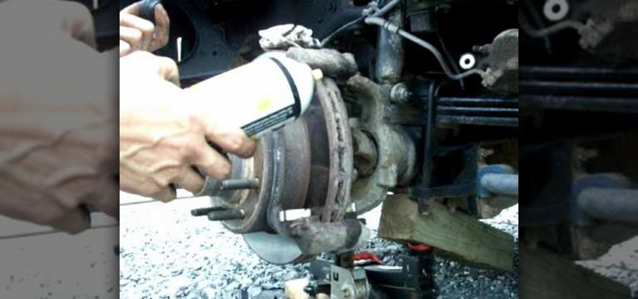 How to Lubricate the caliper pins or replace the brake