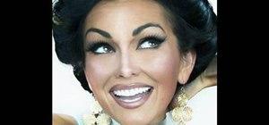 Apply Princess Jasmine inspired makeup