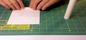 Make 1 sheet toothpick shotgun