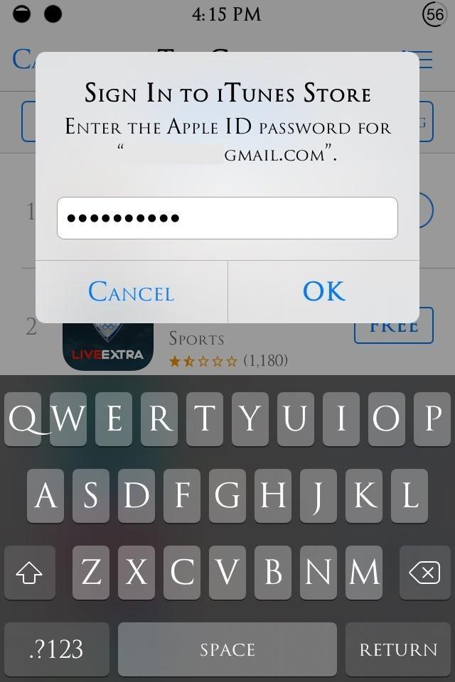 how to find ipad password