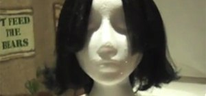 Style a Halloween Wig to Look Like Harry Potter's Snape