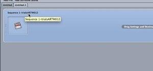 Use Compressor for mpeg2 compression