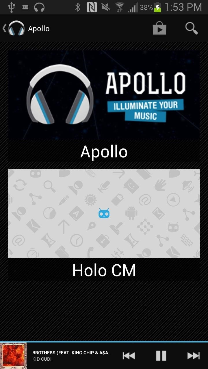 Whip Your Tunes into Shape with CyanogenMod's Apollo Music Player for the Samsung Galaxy Note 2
