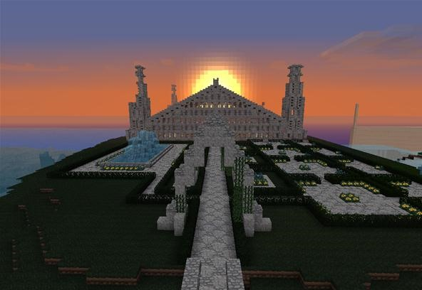 Take a look at this epic city and new spawn created by Andrewed and Shmattins!