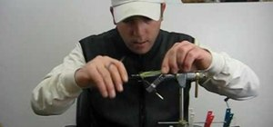 """Tie the """"Rhody flatwing"""" for fly fishing"""