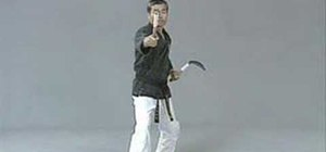 Execute kama hojo-undo (Solo)