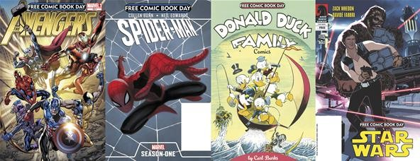 Get a Free Comic Book on Saturday, May 5th for National Free Comic Book Day!