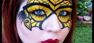 Create an Alexander McQueen inspired Halloween mask