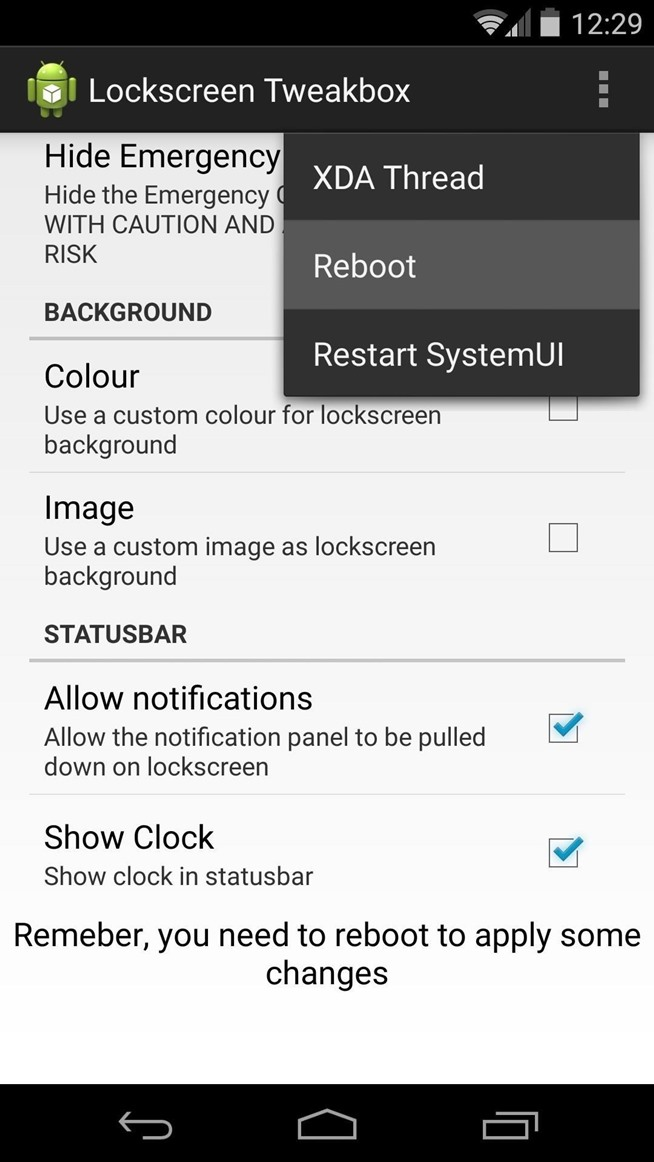 How to Add Functionality & Declutter the Android Lock Screen on Your Nexus 5