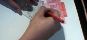 Draw the 8 bit Super Mario
