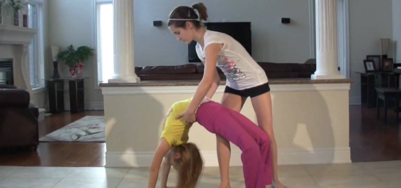 How to Do walkover backbends for stretching « Stretching