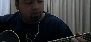 Play Waving Flag (the World Cup 2010 theme) on guitar