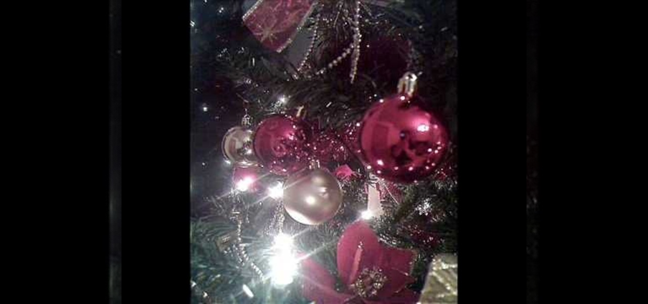 How To Decorate A Christmas Tree Step By Step « Christmas