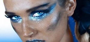 "Recreate the makeup look from the Ke$ha music video ""We R Who We R"""