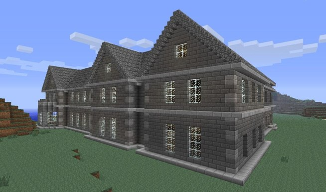 Mount Falcon Manor House In Minecraft 171 Minecraft