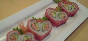 Make a Valentine Sushi Roll