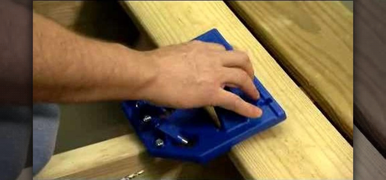 How To Use A Kreg Hidden Fastener Deck Jig 171 Furniture