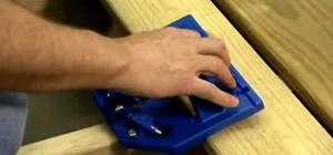 Use a Kreg hidden fastener deck jig