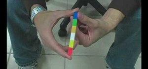 Perform the magic stick trick