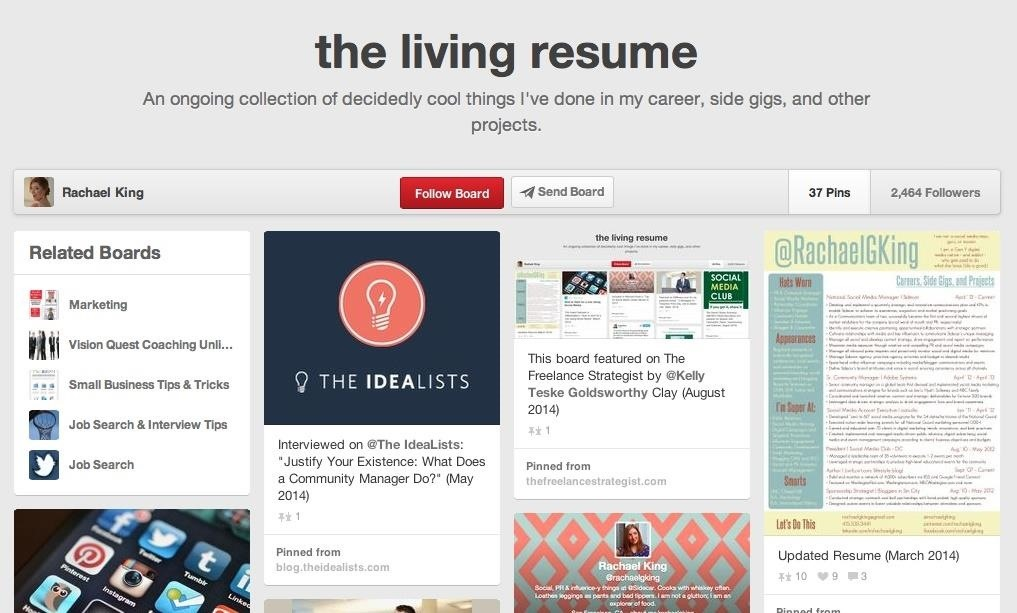 How to Use Pinterest & Tumblr to Find Your Next Great Job