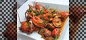 Make a Homard Á L'Américaine - lobster with wine, tomatoes and herbs
